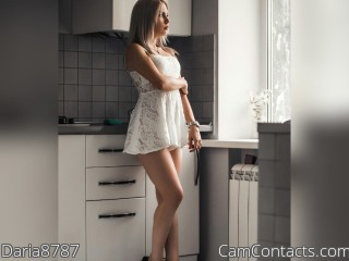 Webcam model Daria8787 from CamContacts