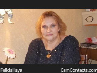 Webcam model FeliciaKaya from CamContacts