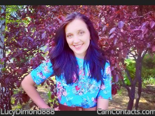 Webcam model LucyDimond888 from CamContacts