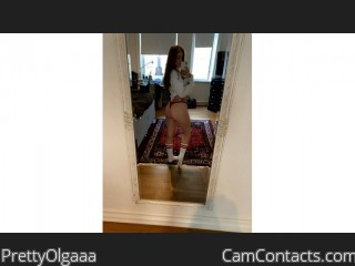 Webcam model PrettyOlgaaa from CamContacts