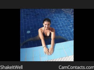 Webcam model ShakeItWell from CamContacts