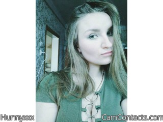 Webcam model Hunnyxxx from CamContacts
