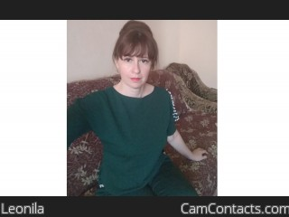Webcam model Leonila from CamContacts