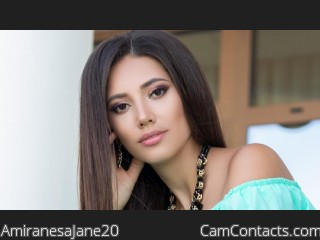 Webcam model AmiranesaJane20 from CamContacts