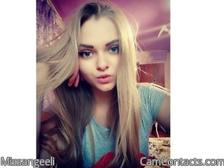 Webcam model Missangeeli from CamContacts