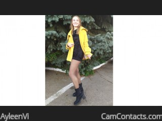 Webcam model AyleenVi from CamContacts