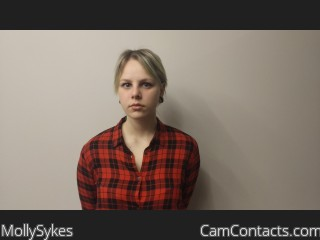 Webcam model MollySykes from CamContacts
