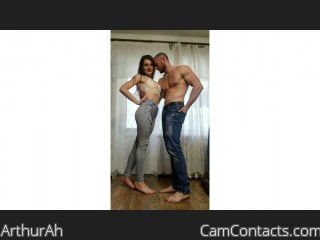 Webcam model ArthurAh from CamContacts