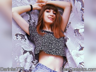 Webcam model Darinka777 from CamContacts