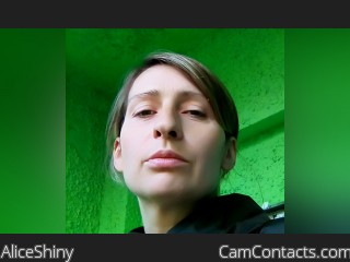 Webcam model AliceShiny from CamContacts