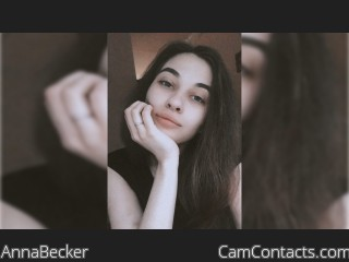 Webcam model AnnaBecker from CamContacts