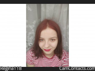 Webcam model Regina118 from CamContacts