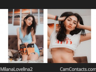 Webcam model MilanaLovelina2 from CamContacts