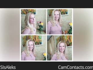 Webcam model SIsAleks from CamContacts
