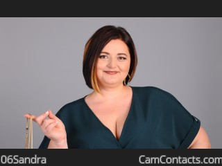 Webcam model 06Sandra from CamContacts