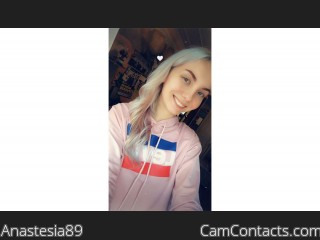 Webcam model Anastesia89 from CamContacts