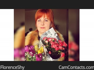 Webcam model FlorenceShy from CamContacts