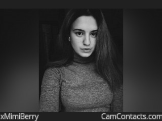 Webcam model xMimiBerry from CamContacts