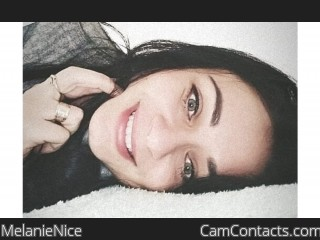 Webcam model MelanieNice from CamContacts