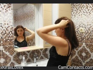 Webcam model xKiraxLovex from CamContacts