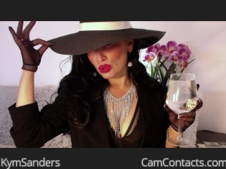 Webcam model KymSanders from CamContacts