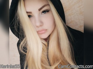 Webcam model Karinka55 from CamContacts