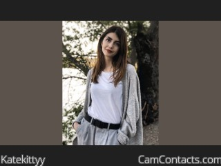 Webcam model Katekittyy from CamContacts
