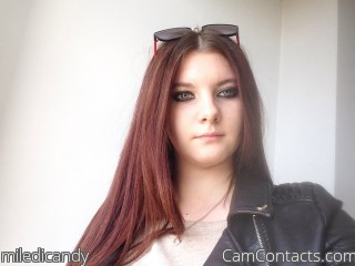 Webcam model miledicandy from CamContacts