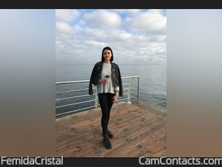 Webcam model FemidaCristal from CamContacts