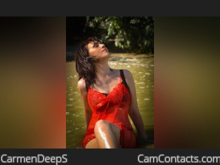 Webcam model CarmenDeepS from CamContacts