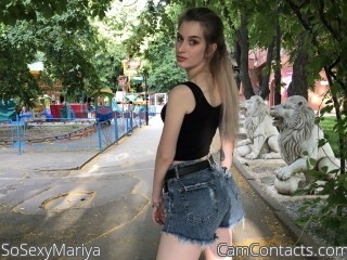 Webcam model SoSexyMariya from CamContacts