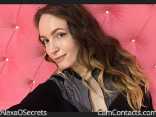 Webcam model AlexaOSecrets from CamContacts