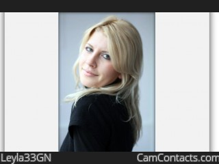 Webcam model Leyla33GN from CamContacts