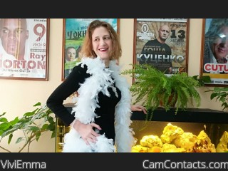 Webcam model ViviEmma from CamContacts