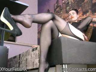 Webcam model XYourFetishX from CamContacts