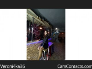 Webcam model Veroni4ka36 from CamContacts