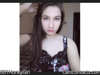 Webcam model 001HoneyGirl from CamContacts