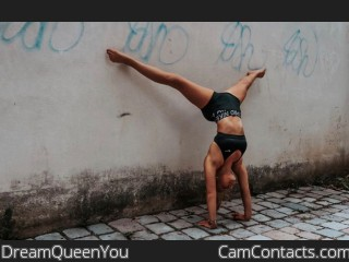 Webcam model DreamQueenYou from CamContacts