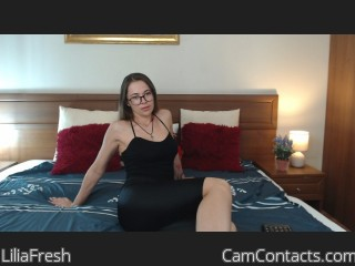 Webcam model LiliaFresh from CamContacts
