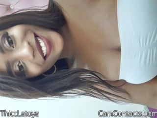 Webcam model ThiccLatoya from CamContacts