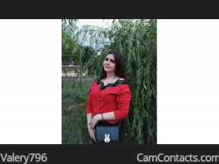Webcam model Valery796 from CamContacts