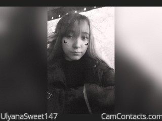 Webcam model UlyanaSweet147 from CamContacts