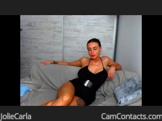 Webcam model JolieCarla from CamContacts