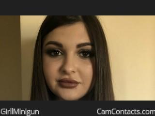 Webcam model GirllMinigun from CamContacts