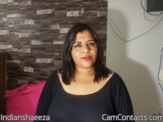 Webcam model Indianshaeeza from CamContacts