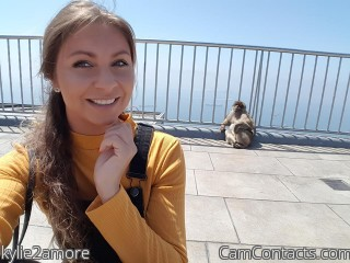 Webcam model kylie2amore from CamContacts