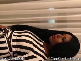 Webcam model NaomiCuteGirl from CamContacts