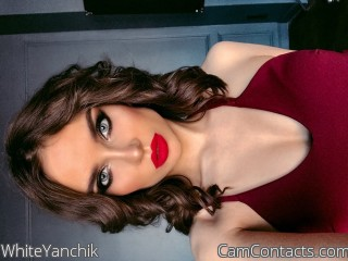 Webcam model WhiteYanchik from CamContacts