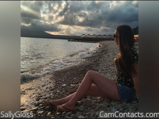 Webcam model SallyGloss from CamContacts