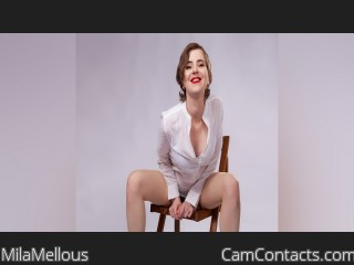 Webcam model MilaMellous from CamContacts
